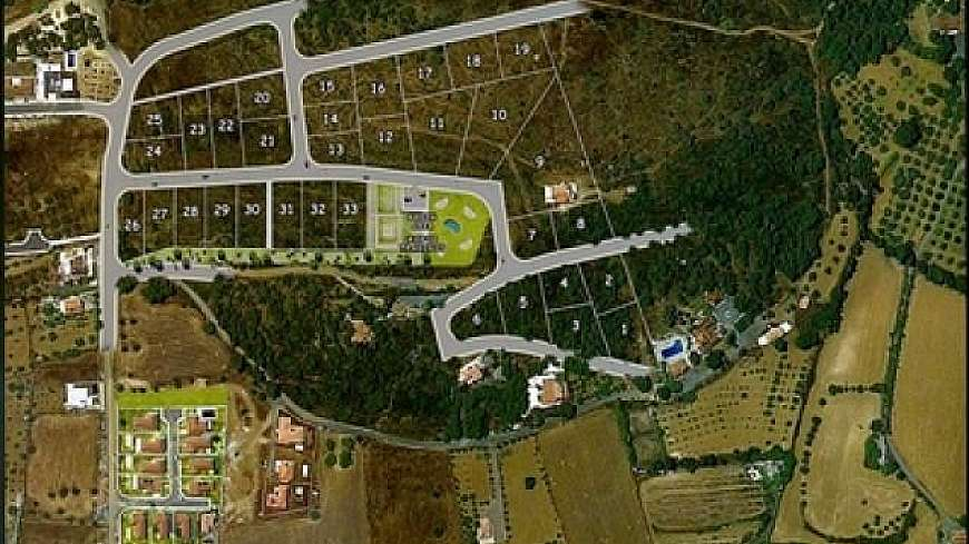 Plots in Pyrga (Panoramic Sites)