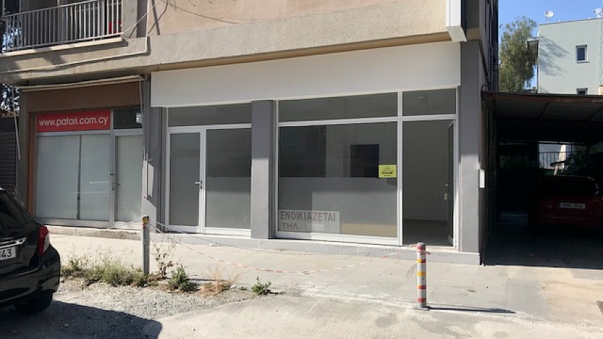 Shop for rent/Off Makarios Avenue