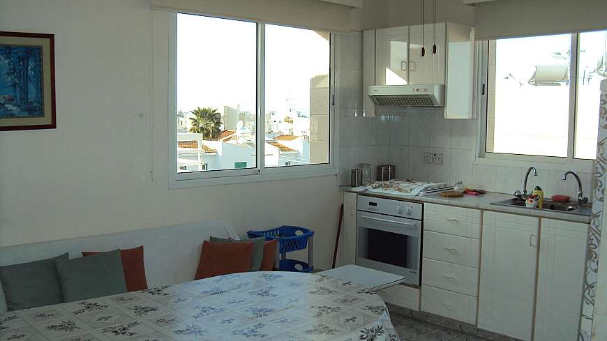 **SPECIAL OFFER-REDUCED FOR QUICK SALE** 2 Bedroom Sea View Penthouse in Kapparis with TITLE DEEDS