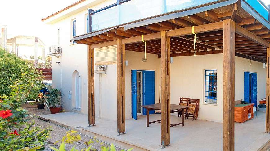 **SPECIAL OFFER-REDUCED PRICE** 3 Bedroom Seaside Villa in Kapparis with TITLE DEEDS