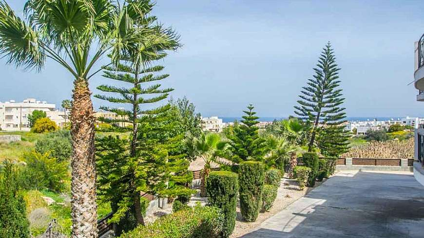 **SPECIAL OFFER-REDUCED PRICED** Bright 2 Bedroom Sea View Apartment in Paralimni €72,000 (From €82,000)