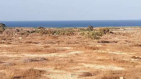 SEA-VIEW PLOT FOR SALE IN PARALIMNI