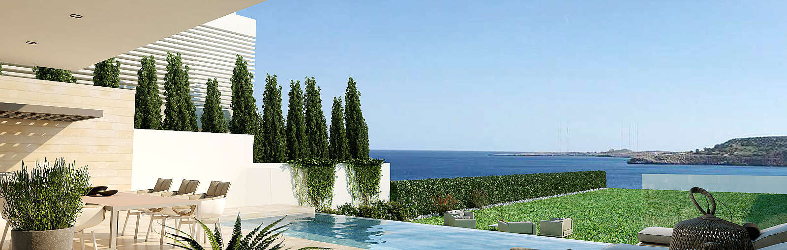 "<span class=""numbers"">3</span> Bed­room Detached Lux­u­ry Sea Front Villa/​Cape&nbsp;Greco"